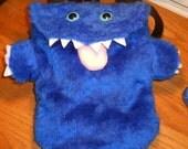 ON SALE Price reduced 25%  Blue Monster Backpack Bag