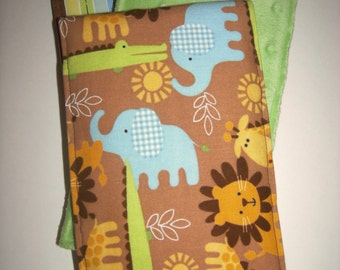 Jungle Fun Burp Cloths (Set of 3)