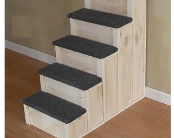 30 inch tall 5 Step Pet Stairs Bed Step