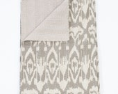 Sale! Ikat Quilt in Twin Size