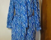 VTG Vintage Schrader shirtwaist dress polyester paisley petite by TheRetroCafe on Etsy