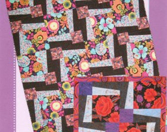 BQ3 Quilt Pattern Maple Island Quilts DIY Quilting Sewing, 6 Sizes