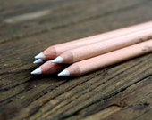 White Chalk Pencil for chalkboards - White Chalk Alternative- Artist supplies - Wedding Chalkboard - rusticcraftdesign