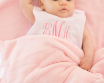 Personalized Baby Blanket for Girl or Boy