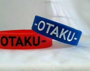 Otaku or Cosplay Rubber Bracelets
