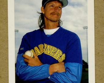 Vintage Randy Johnson 1992 Bowman Baseball Card