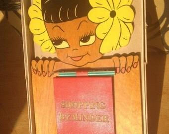 Tiki Girl Shopping Reminders