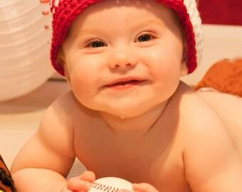Baby Baseball Beanie with Brim