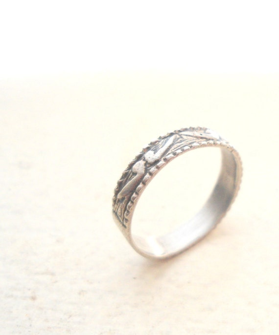 dolphin ring ethnic jewelry handmade sterling silver
