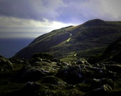 Bray Mountain Path. Ireland Landscape Photography. Home Decor  Print