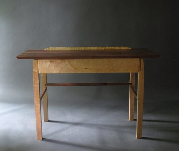 narrow writing desk