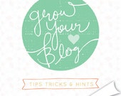 how to grow your blog e-book