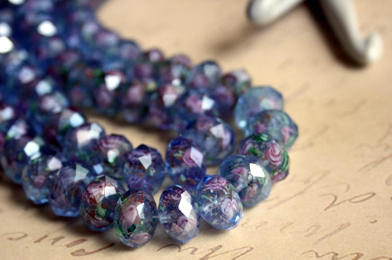 glass bead supplies glass blue murano