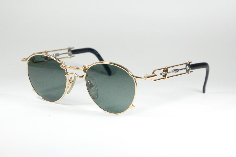 vintage 80s jean paul gaultier steampunk sunglasses precious. Black Bedroom Furniture Sets. Home Design Ideas