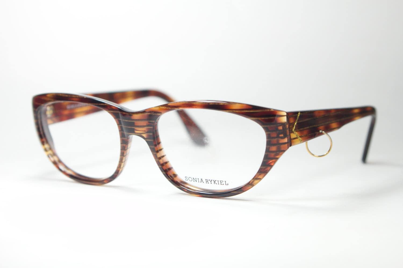 Sonia Rykiel precious Made in France cateye eyeglasses frames