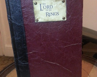 the LORD of THE RINGS trillogy Hardback Book , Old Leather Ed...fan art
