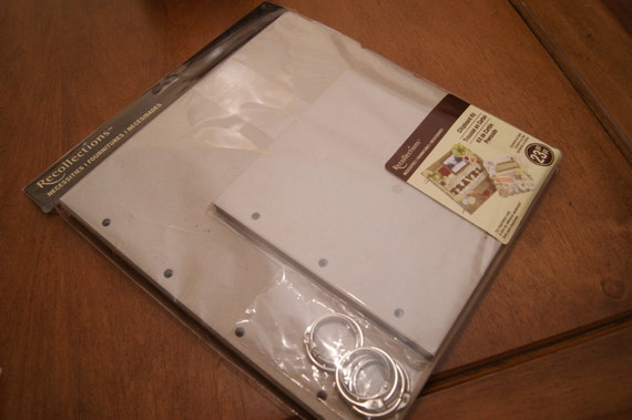 Recollections mini album chipboard kit