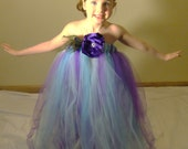 Any Color Custom Tutu Gown and headband set