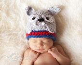 Bulldog Hat PATTERN - Crochet