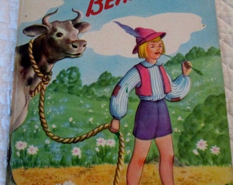 Jack and the Beanstalk - Maxton Publishers - 1946 Illustrated by Harriet