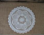 Vinyl Lace Doilies   1 vinyl lace doily
