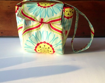 Insulated Lunch Tote Sunflowers