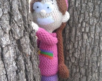 Mabel Pines Inspired Doll from Gravity Falls