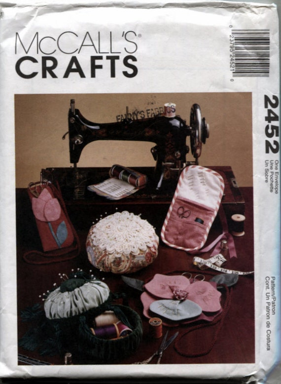 Mccalls 2452 Sewing Room Accessories Pattern For A Chatelaine