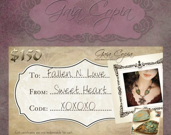 Gaia Copia Digital Gift Card 150