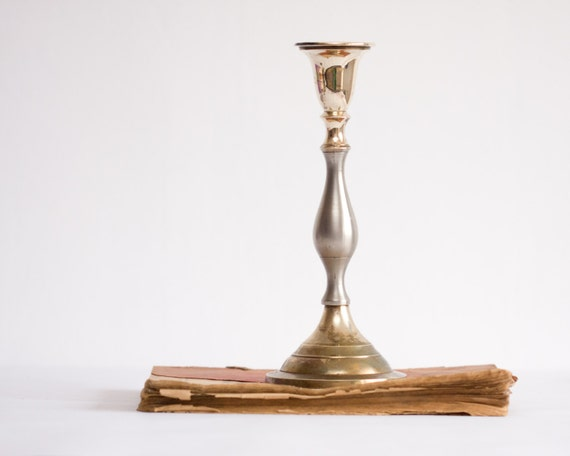 Bronze Candle Centerpiece : Victorian bronze candlestick candle holder by