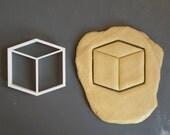Cube 3D cookie cutter 1, ...