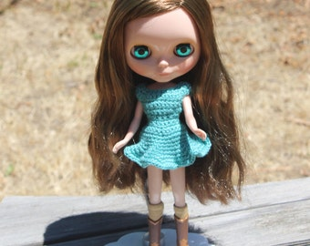Summer dress crochet pattern for blythe PDF
