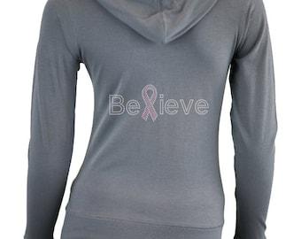 Custom Breast Cancer Awareness Shirt . Fight Breast Cancer . Breast Cancer Awareness Clothes . Pink Ribbon . Cancer Walk
