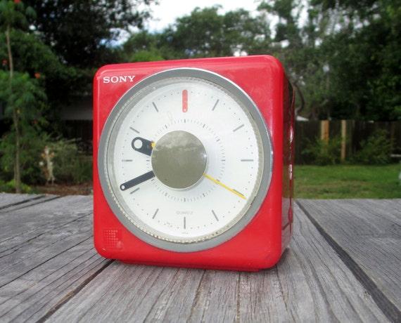 sony cube clock radio instructions