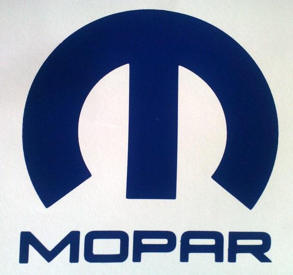 Items Similar To MOPAR Decal Vintage Style Logo Large