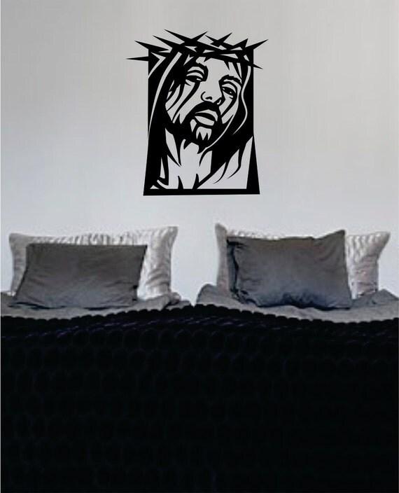 Jesus Wall Decoration : Jesus christ decal sticker wall vinyl religious art