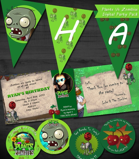 Zombie Invitations for perfect invitations ideas