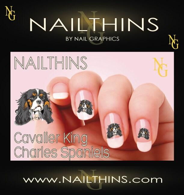 Spaniels Dog Nail Art Nail
