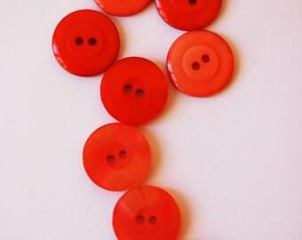 8 Vintage Buttons