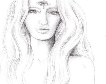 Original Artwork - 'Insight ll'