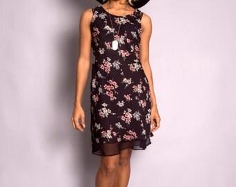 SALE 90's Grunge Floral Dress