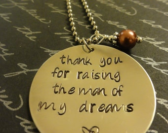 Mother In-law necklace