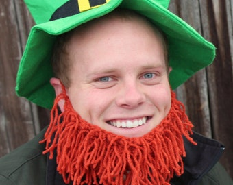 Leprechaun Orange Beard (Child/Adult)