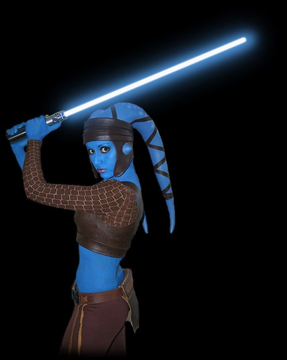 Replica Star Wars Aayla Secura Twi Lek Costume Parts