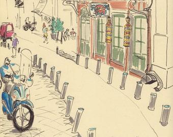 Travel Sketch: Athens
