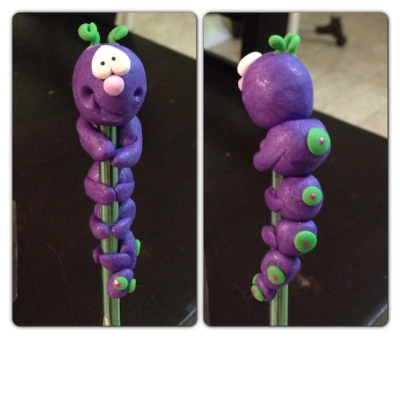 Caterpillar crochet hook