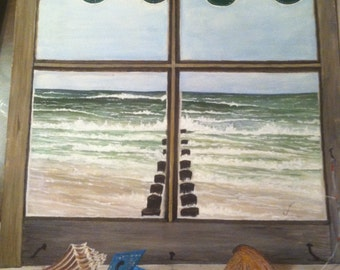 Oceanview  24 X 18 Summer Beach House