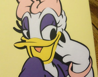 "12"" Daisy Duck - Birthday - Party - Decoration - Shower - Die Cut"