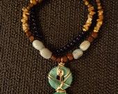 Turquoise Rebellion - Turquoise Gemstone Necklace, Gemstone Jewelry, Unique Jewelry