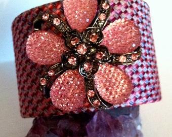 Perfectly pinks cuff bracelet
